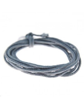 Fashion cord 0,8mm gris