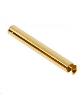 Distanciateur embout tube 30x4mm doré