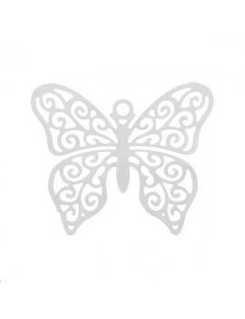 Filigrane papillon 27x21mm