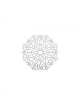 Filigrane rosace fleur 29mm