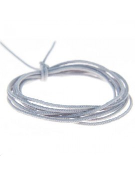 Fashion cord 0,8mm gris clair