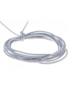 Fashion cord diamètre 0,8mm gris clair vendu au mètre
