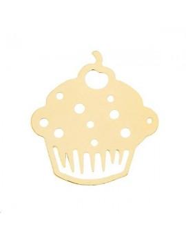 Filigrane cupcake 14x15mm