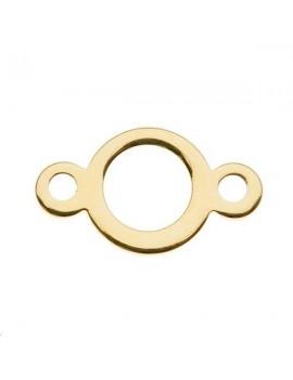 Pastille évidée 14x8mm 2 anneaux