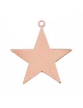 Pampille étoile 20x18mm