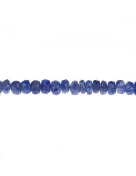 Saphir rondelle facettes 2,5-4mm