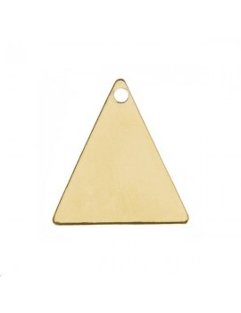 Pampille triangle 11,5mm 1 trou