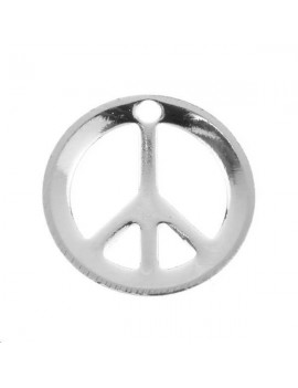 Peace & love 12mm 1 trou