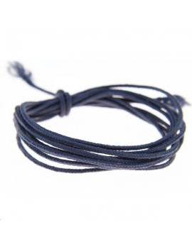 Fashion cord 0,8mm jean