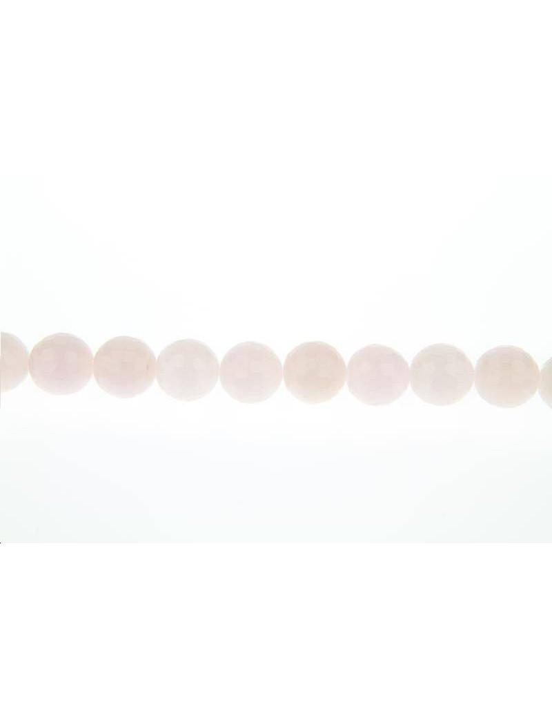 Agate teintée facettes 12mm rose foncé lot de 2 pièces