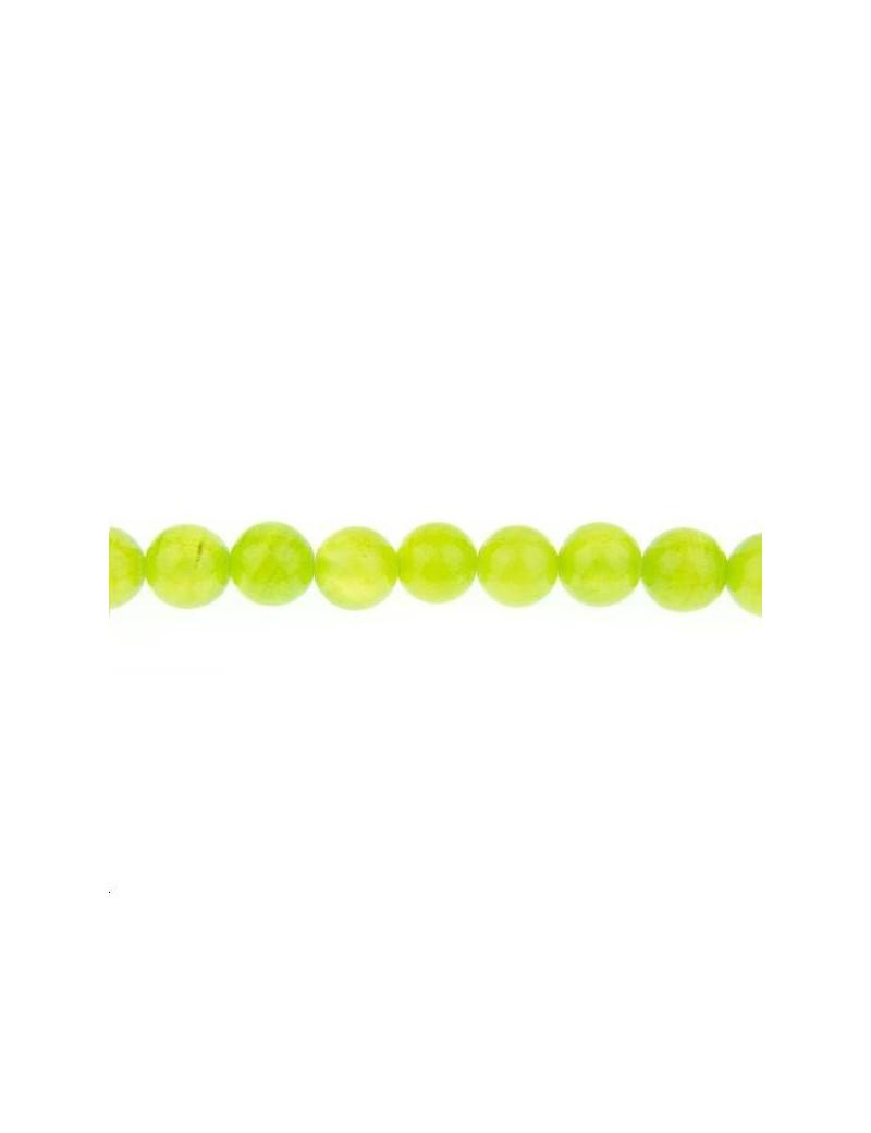 Quartz 10mm vert pomme lot de 2 pièces
