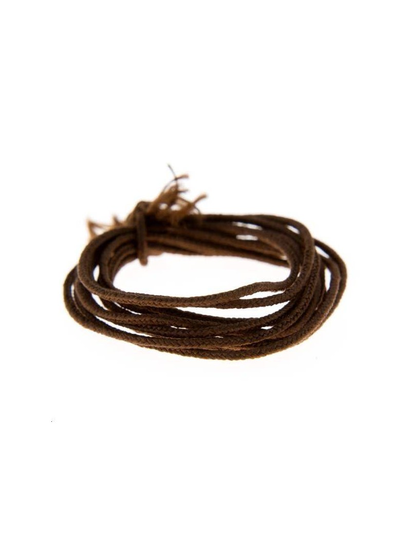 Fashion cord diamètre 0,8mm marron vendu au mètre