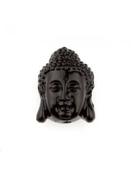 Bouddha bambou corail 15x20mm