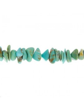 Turquoise chips 5-8mm