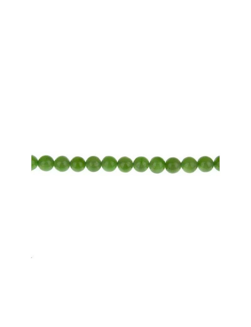 Jade rond 6mm lot de 1 pièce