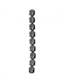 Hématite bouddha 10x9mm