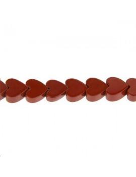 Jaspe cur 6mm rouge lot de 5 pièces