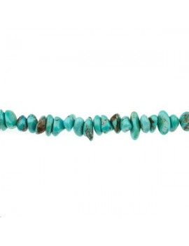 Turquoise chips 18-20mm