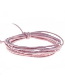Fashion cord diamètre 0,8mm parme clair vendu au mètre