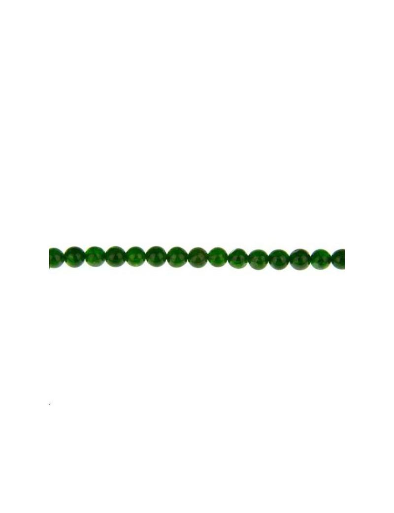 Chrome diopside rond 5mm lot de 1 pièce