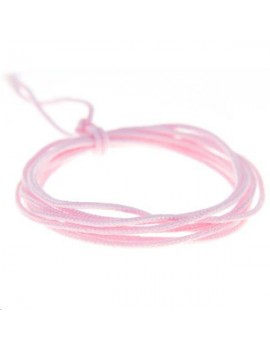Fashion cord 0,8mm rose