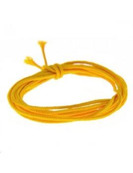 Fashion cord diamètre 0,8mm safran vendu au mètre