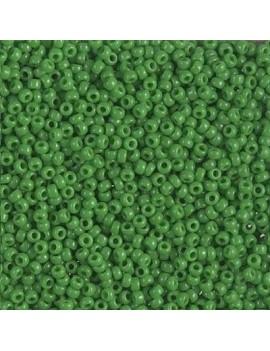 Rocaille miyuki 11/0 opac green