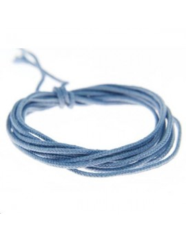 Fashion cord 0,8mm bleu denim