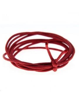 Coton ciré 1,3mm rouge