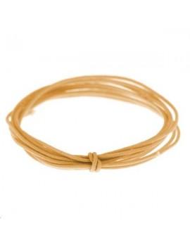 Fashion cord diamètre 0,6mm doré vendu au mètre