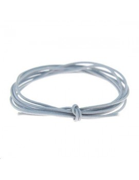 Fashion cord diamètre 0,6mm gris vendu au mètre