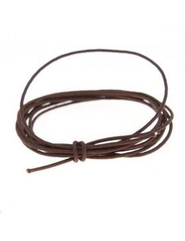 Fashion cord diamètre 0,6mm marron vendu au mètre