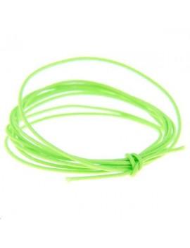 Fashion cord diamètre 0,6mm vert fluo vendu au mètre