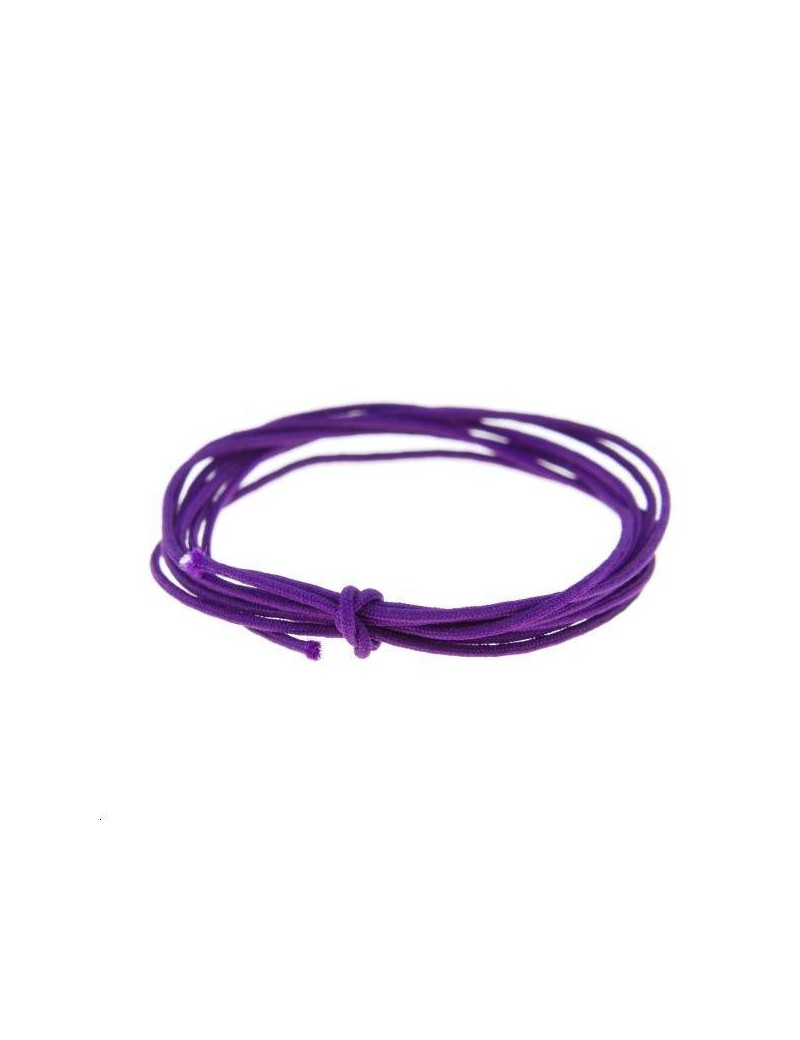 Fashion cord diamètre 0,6mm violet vendu au mètre