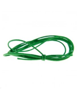 Cordon nylon tressé 0,5mm vert
