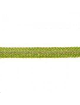 Galon métallisé plat 8mm vert amande vendu au mètre
