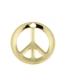 Peace & love 12mm 1 trou