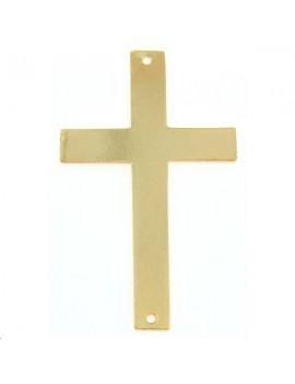 Pendentif croix pleine 40x24mm