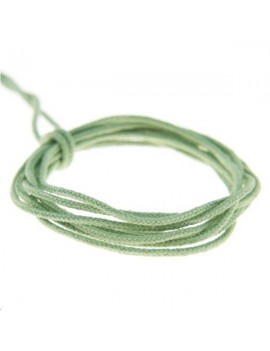 Fashion cord 0,8mm vert amande