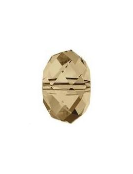 Briolette bead 8mm cr golden shadow