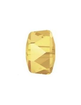 Rondelle Bead 4 mm Crystal metallic sunshine