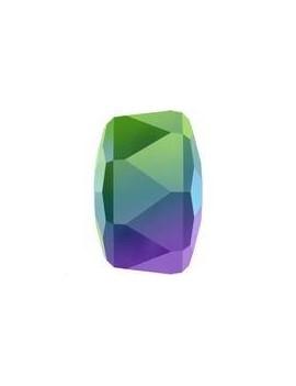 Rondelle bead 4mm Crystal Scarabaeus Green