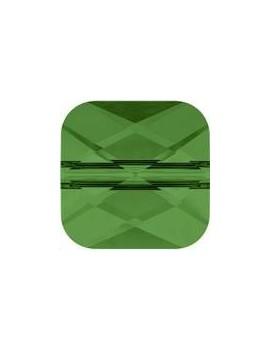 Perle mini square 6mm fern green