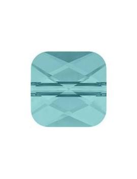 Perle mini square 6mm light turquoise