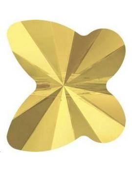 papillon 8mm crystal metallic sunshine