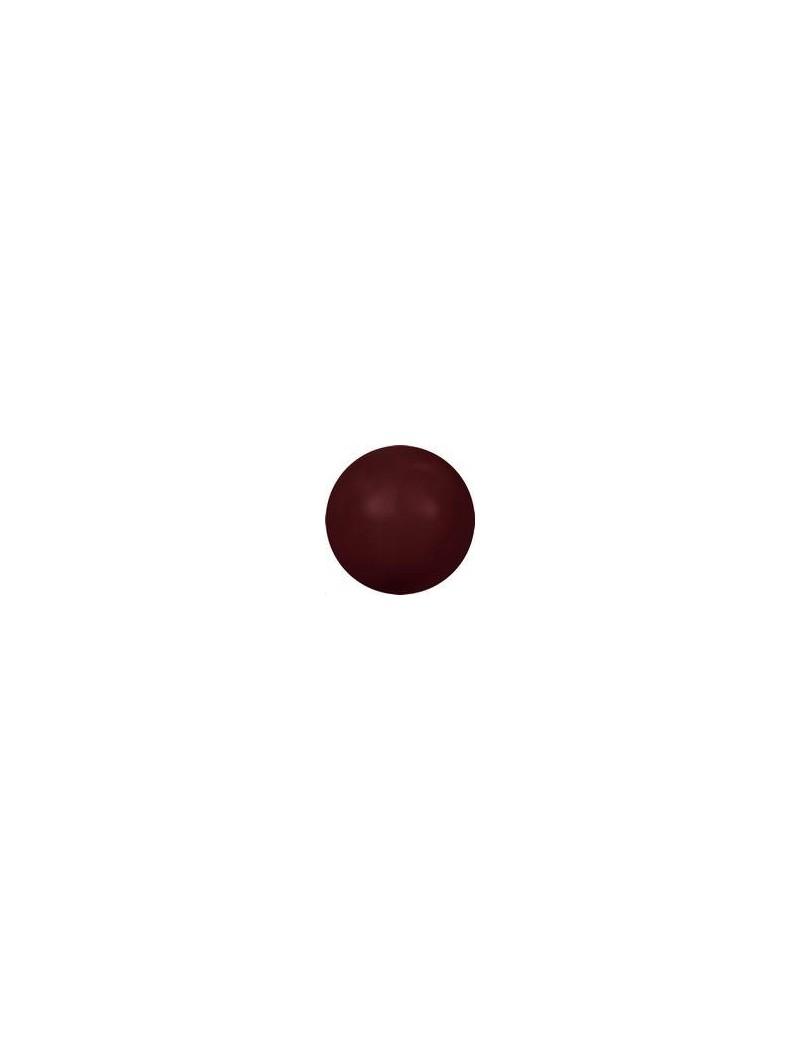 Nacre ronde 3mm bordeaux