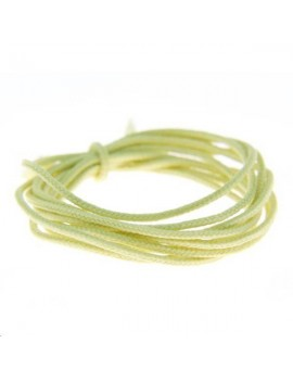 Fashion cord diamètre 0,8mm vert anis vendu au mètre