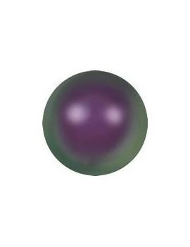 Nacre ronde 4mm iridescent purple