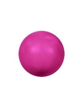 Nacre ronde 4mm neon pink
