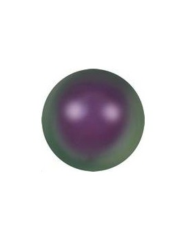 Nacre ronde 5mm iridescent purple